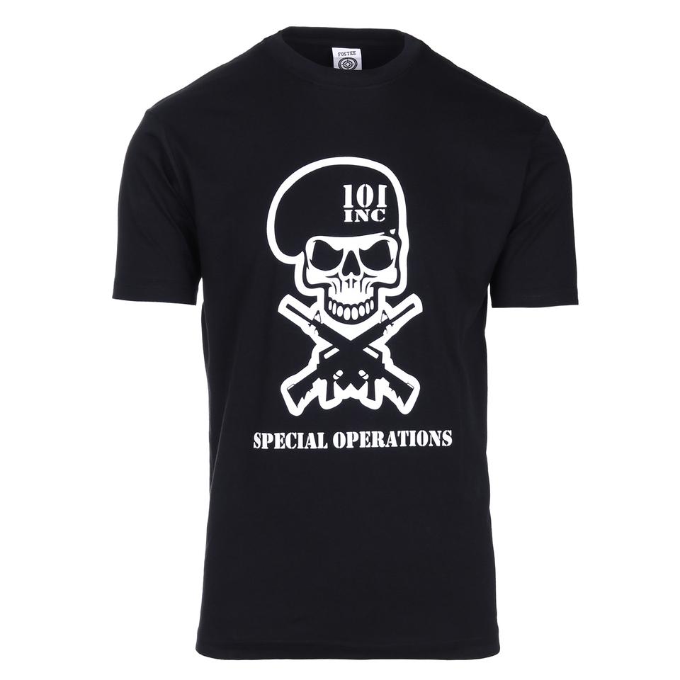 101inc T-shirt Special Operations zwart