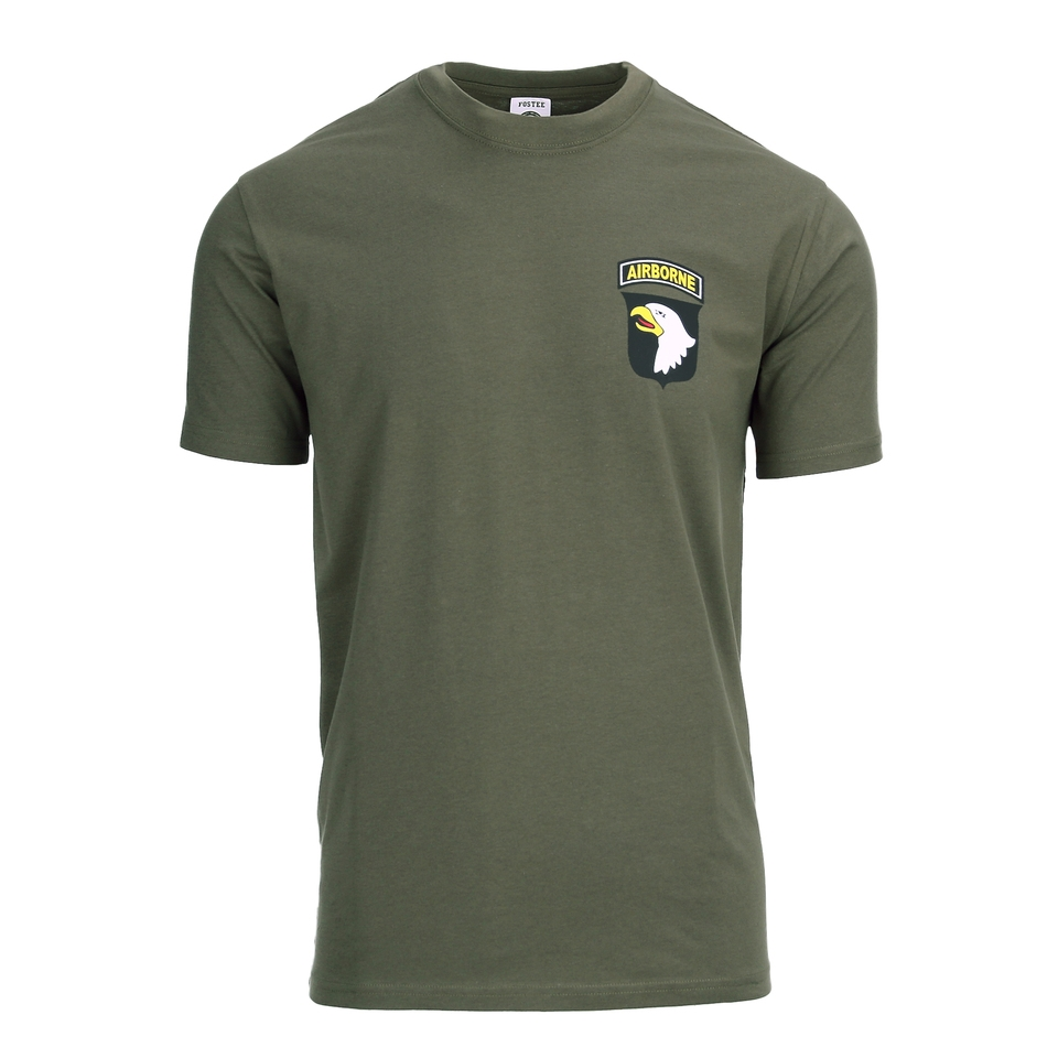 Fostex T-shirt 101st Airborne chest groen