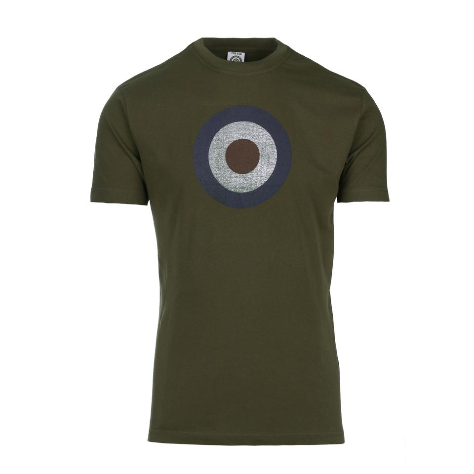 Fostex t-shirt Target RAF vintage olive