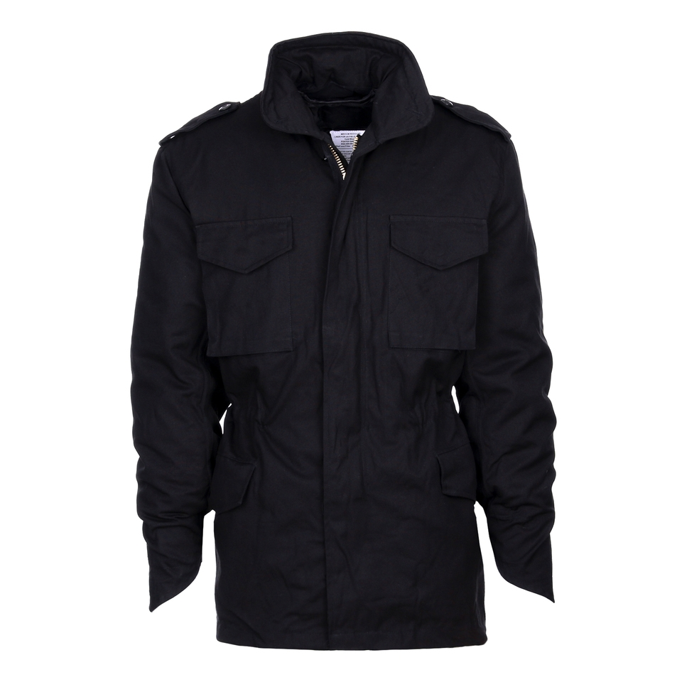 Fostex M-65 Fieldjacket buitenjas heavy duty black