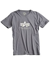 Alpha Industries Basic T-shirt grey/black