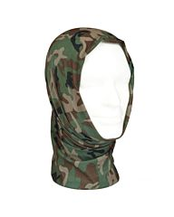 Mil-Tec Multi Function Headgear woodland camo