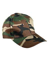 Mil-Tec Baseball Cap Snapback woodland camo