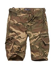 Vintage Industries Gandor shorts woodland camo