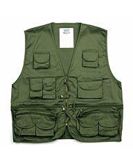 Fostex survival vest (bodywarmer) groen