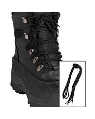 Mil-Tec Schoenveters katoen zwart 220cm