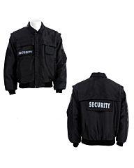 Fostex Security jack snijwerend met afritsbare mouwen zwart