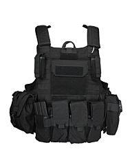 101inc Tactical vest Raptor zwart