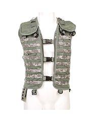 101inc Tactical vest MOLLE system digital ACU camo