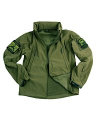 101inc Softshell Jacket Tactical groen
