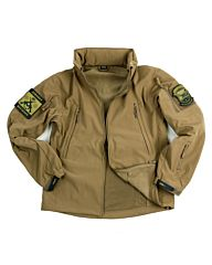101inc Softshell Jacket Tactical khaki