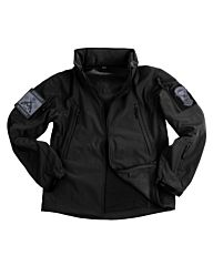 101inc Softshell Jacket Tactical zwart