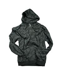 Fostex Hooded sweater met rits night camo