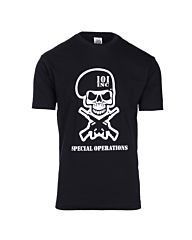 101inc T-shirt Special Operations zwart