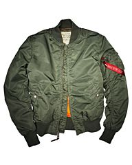 Alpha Industries MA-1 VF 59 jack sage green