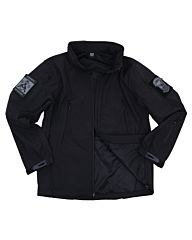 101inc Softshell Jack Tactical new version zwart