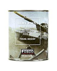 Fosco Blik legerverf 1 liter Desert