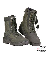 Fostex Sniper Boots Side-Zip groen