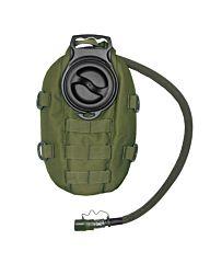 101inc Waterpack + 1,5 liter bladder groen