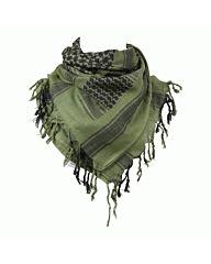 Arafat PLO sjaal zwart/groen