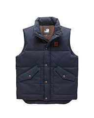 Vintage Industries Newbury Bodywarmer navy