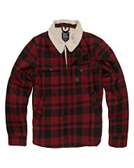 Vintage Industries Cavan winterjacket red check