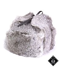 Russische bontmuts origineel grijs
