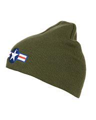 Fostex Beanie muts WWII groen