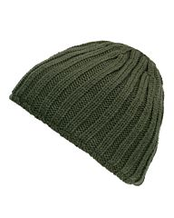 Fostex Beanie heavy knit groen