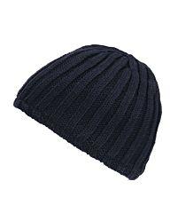 Fostex Beanie heavy knit blauw