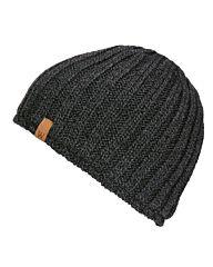 Fostex Beanie heavy knit grijs