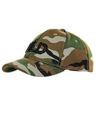 Baseball cap NLD stretch woodland camo