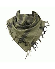 Arafat PLO sjaal Skull Bones groen