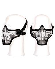 Fostex Airsoft beschermingsmasker half skull