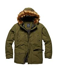 Vintage Industries Circle N3B parka olive