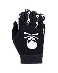 Fostex mechanic handschoenen skull & bones zwart