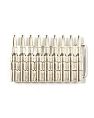 Buckle 9 bullets #25 riemgesp kogels