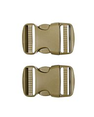 101inc Spare Buckle 38mm 2st. coyote