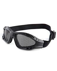 Mesh goggle zwart