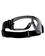 Bollé X800 Tactical Bril clear platinum zwart