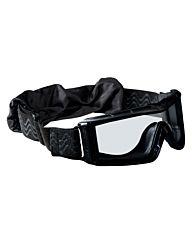 Bollé X810 Tactical Bril clear platinum zwart