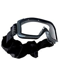 Bollé X1000 Tactical Bril Platinum clear zwart