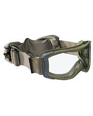 Bollé X1000 Tactical Bril Platinum clear groen