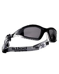 Bollé Tracker Tactical Bril smoke platinum zwart