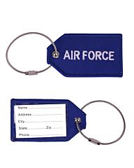 Bagage Label Airforce blauw