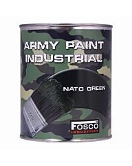 Fosco Blik legerverf 1liter Nato groen