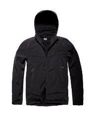 Vintage Industries Alford Softshell Jacket black