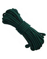Bundel nylon touw 7mm/15mtr legergroen