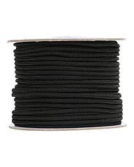 Fosco Touw op rol 5mm/60mtr nylon zwart
