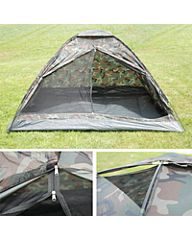 Fosco tent 3 persoons camouflage